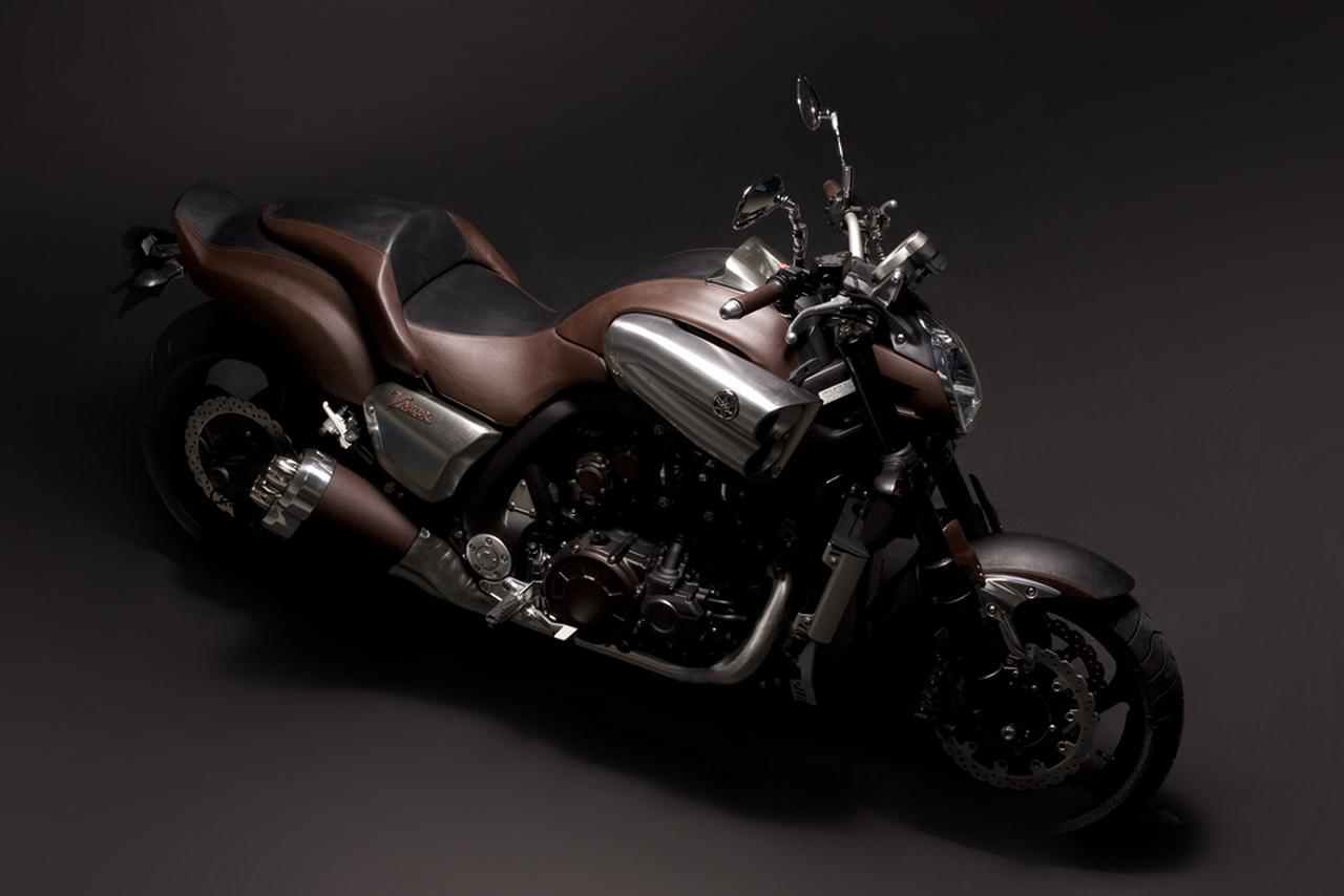 Yamaha и Hermes выпустили роскошный мотоцикл