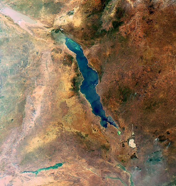 Фото дня: озеро Малави в Африке