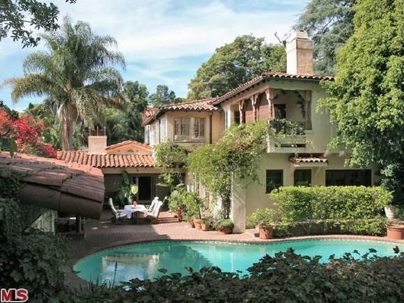 Вайнона Райдер продаст свой особняк в Лос-Анджелесе