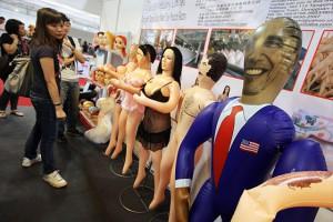 Китайцы выпустили секс-куклу Барака Обамы