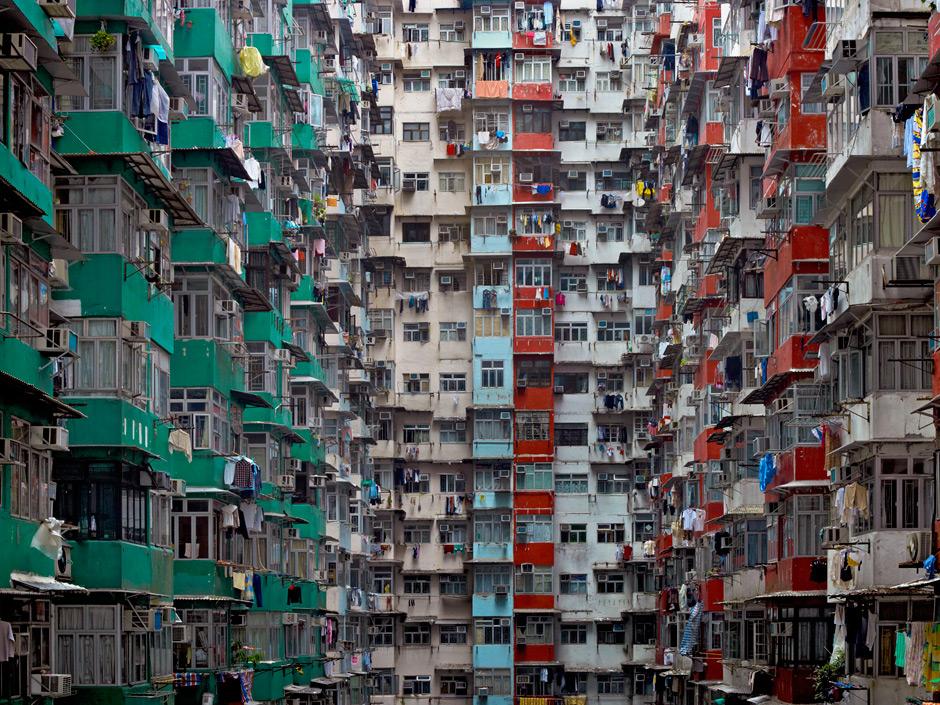 Спальные кварталы Гонконга и их обитатели