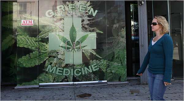 «Медицинская марихуана» в США