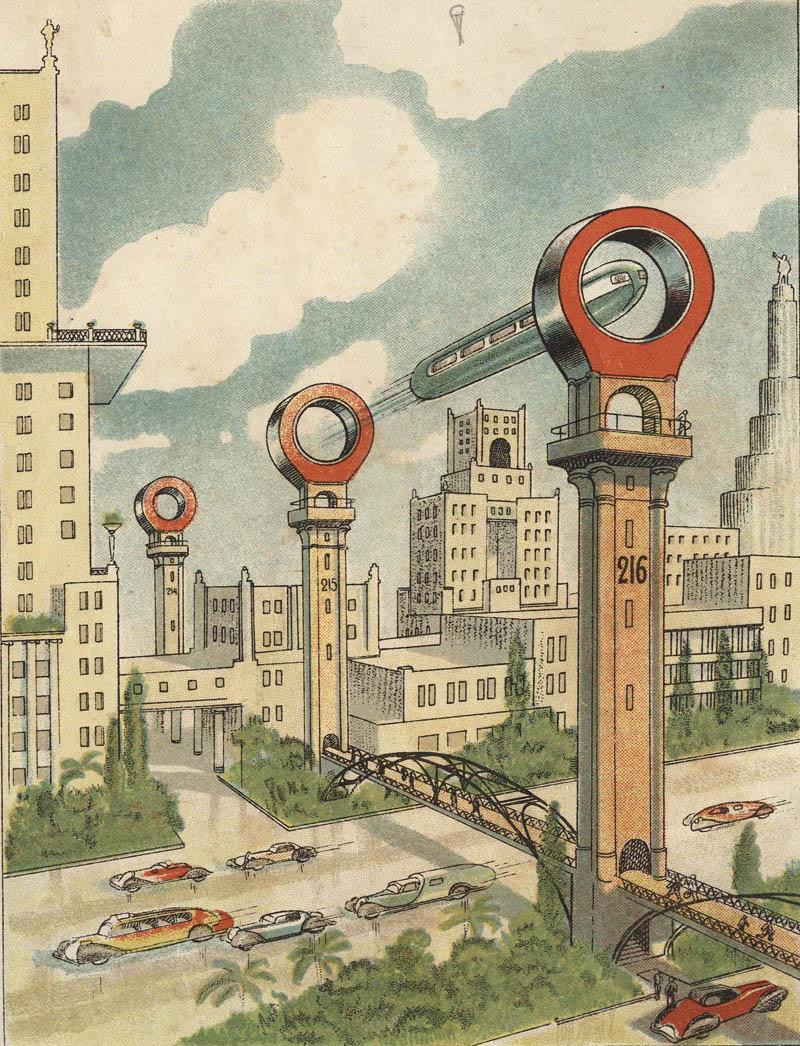 Каким виделось будущее Москвы из 1920-30-х годов