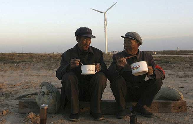 Китай стал крупнейшим производителем энергии ветра