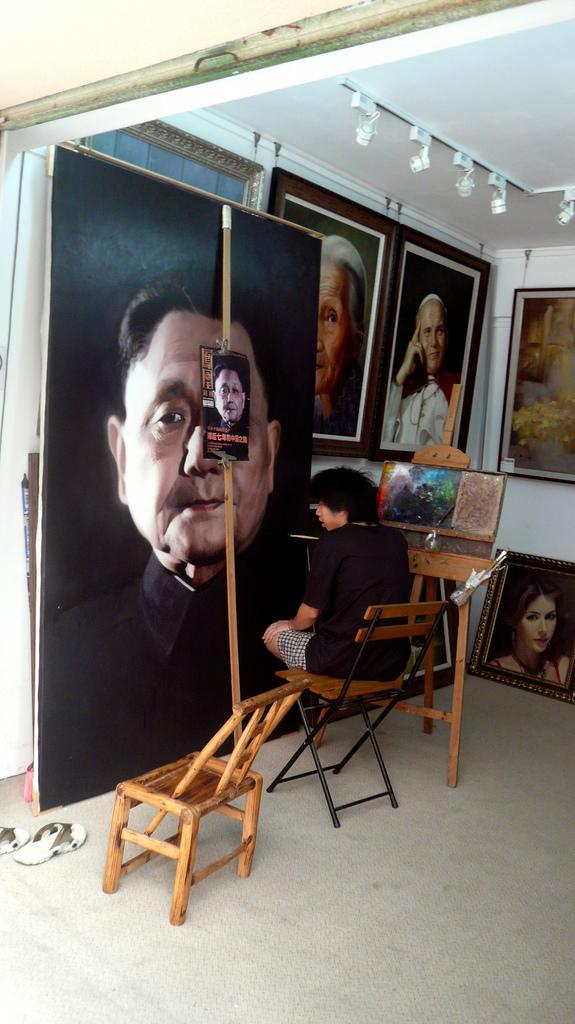 Китайская деревня Дафен: мировой центр производства картин
