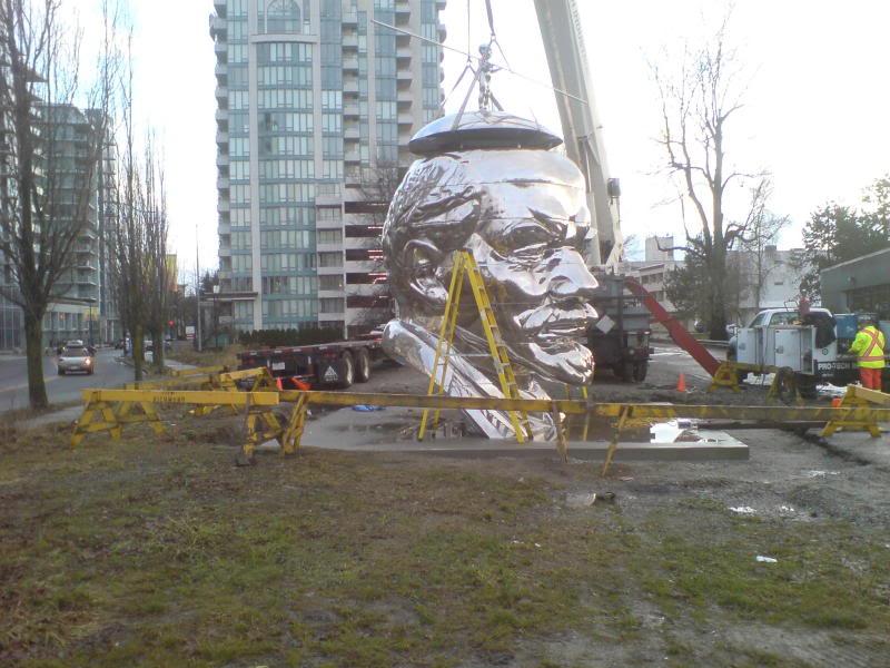 Последний памятник Ленину