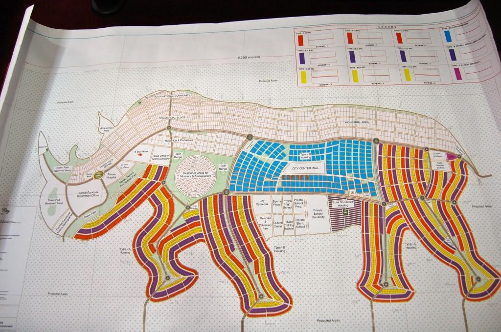 Частные города в форме животных в Южном Судане