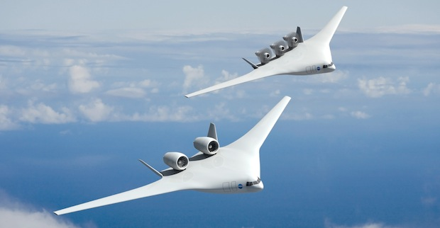 Как будут выглядеть самолеты в 2025 году