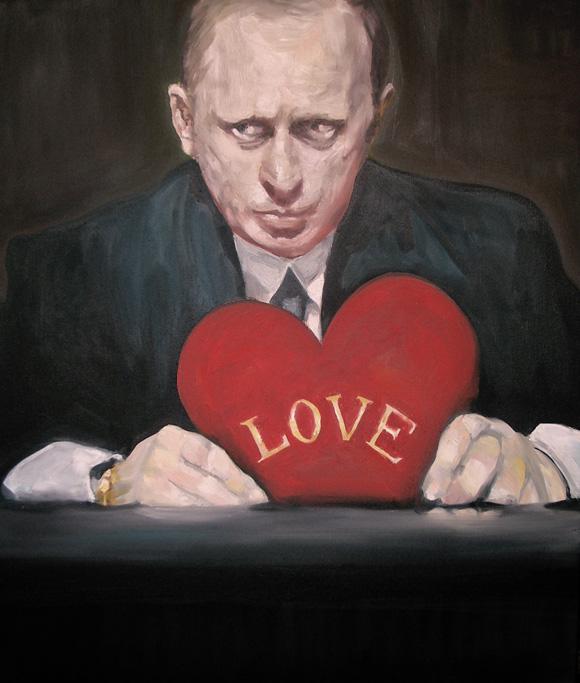 Западные художники рисуют Путина