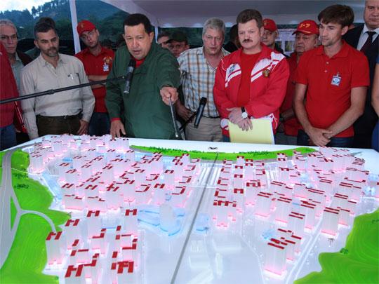 Уго Чавес нанял Ресина перестраивать трущобы Каракаса