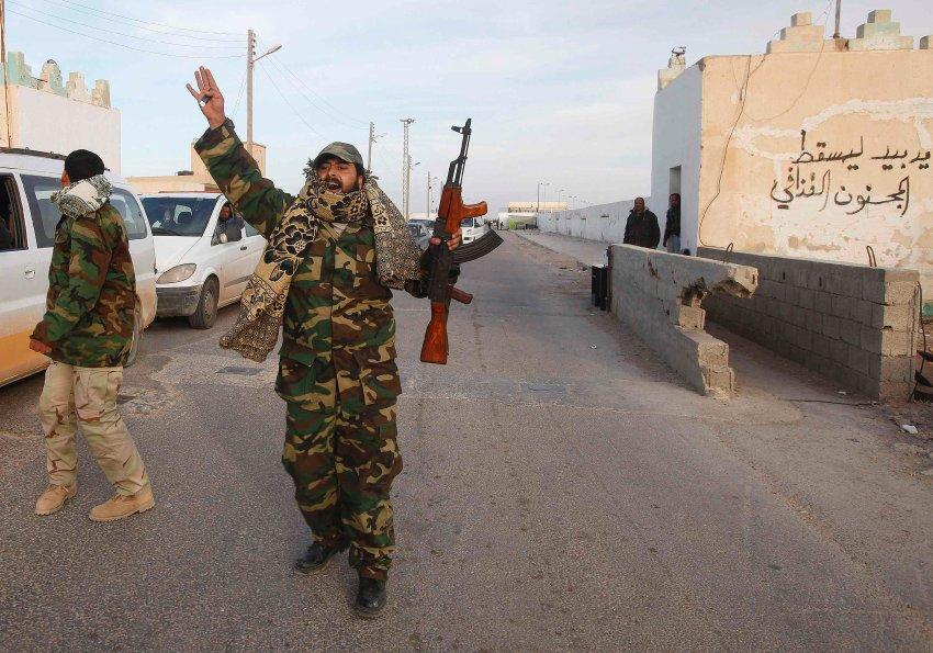 Фото недели: гражданская война в Ливии