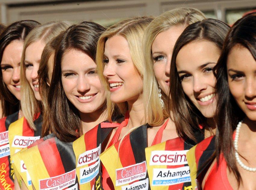 Фото дня: конкурс красоты Мисс Германия-2011
