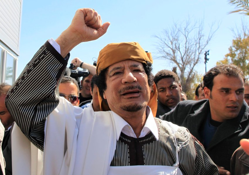 Фото недели: Каддафи надавил на мятежников
