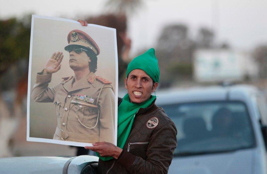 Муаммар Каддафи по-прежнему не сдается