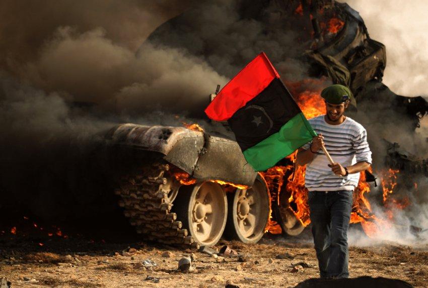 Ливия: идем на Запад!