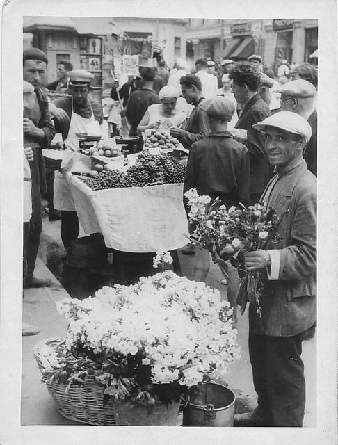 Рынок в Москве 1930