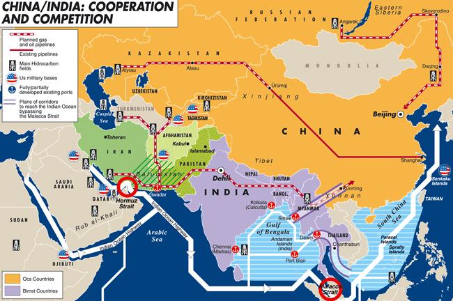 Конкуренция между Китаем и Индией