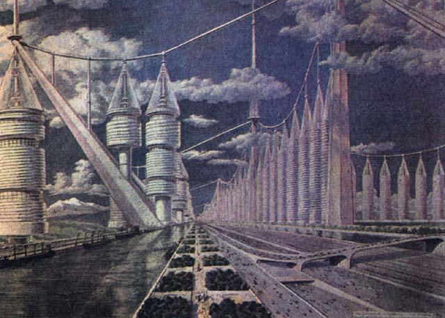 Какой виделась Москва будущего из 1950-60-х годов