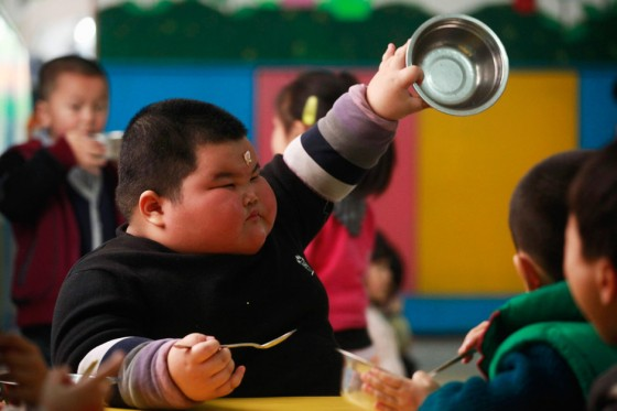 Самый тяжелый ребенок на Земле: 62 килограмма в 4 года