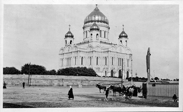 Москва 1909 года: за 100 лет в городе ничего не изменилось