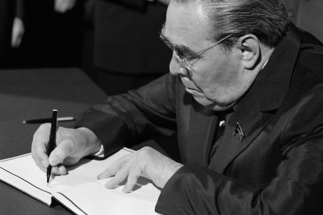 «Пробовал говорить в зале Кремля»: дневник Брежнева