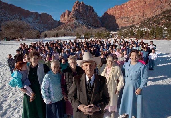 Фундаменталистский социализм и полигамия мормонов США