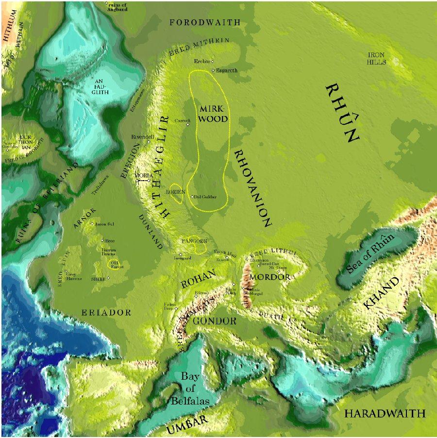 Толкин списал свой Мордор с Румынии