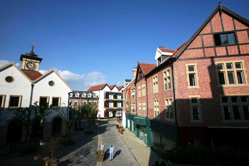 В Китае скопировали европейские города