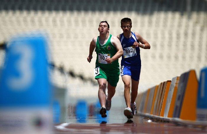 Олимпийские игры для лиц с умственными отклонениями
