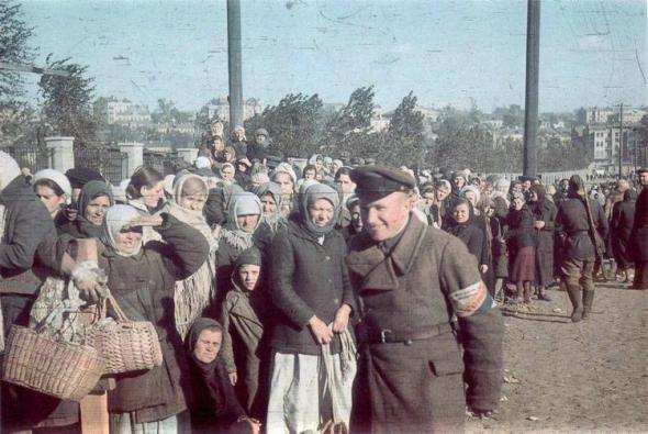 Жизнь в оккупации: записки русского офицера абвера
