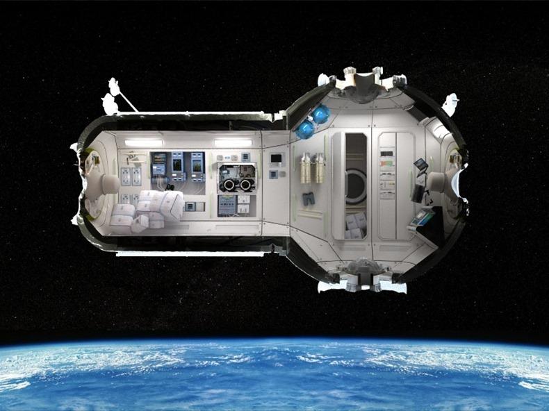 Космическая гостиница 2016 года