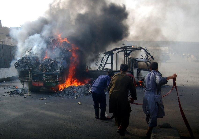 В пакистанском Карачи началась этническая война