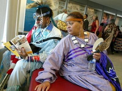 Индейцы против негров