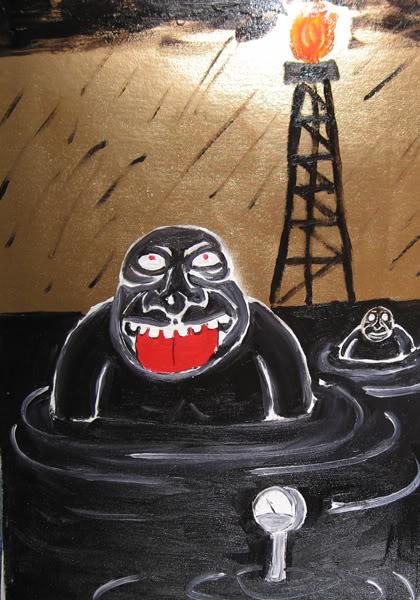 Олигархи и корпорации залили Россию нефтью