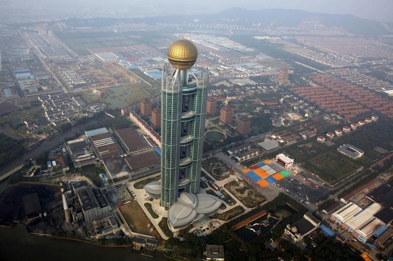 Как китайцы небоскреб в деревне построили