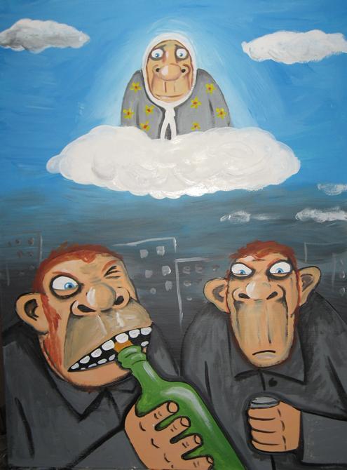 Рисунок Василия Ложкина