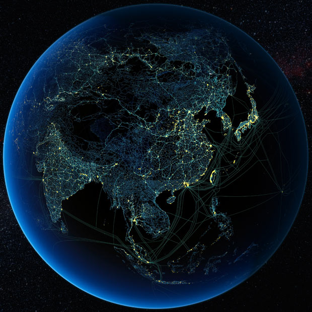 Как выглядят карты «антропоцена» Земли