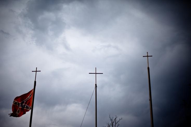 Праздник Ку-Клукс-Клана в штате Кентукки