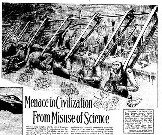 Как «восстание роботов» вызвало в 1930-е массовую истерию в США