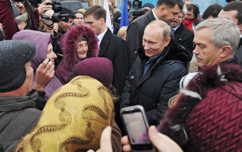 Владимир Путин сыграет снова в доброго царя