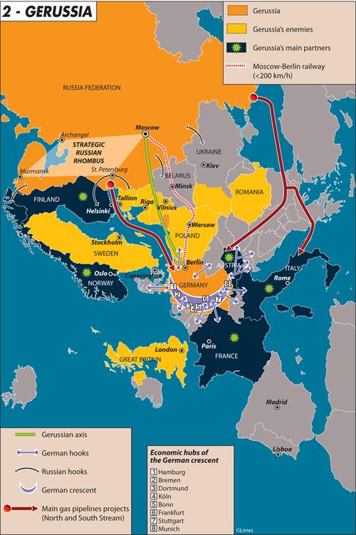Карта дня: GeRussia