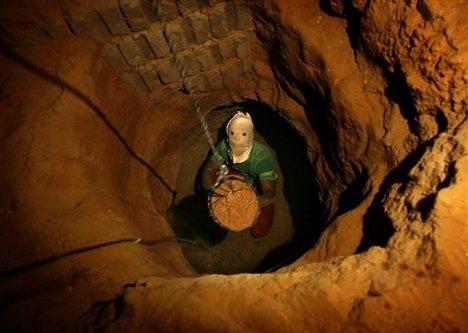 Туннели контрабандистов в секторе Газа