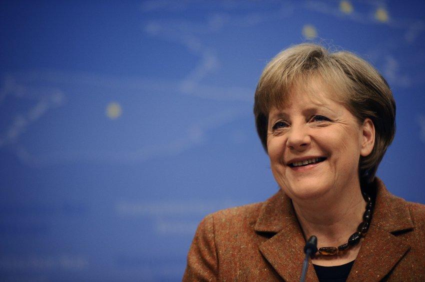Ангела Меркель стала иностранным президентом РФ