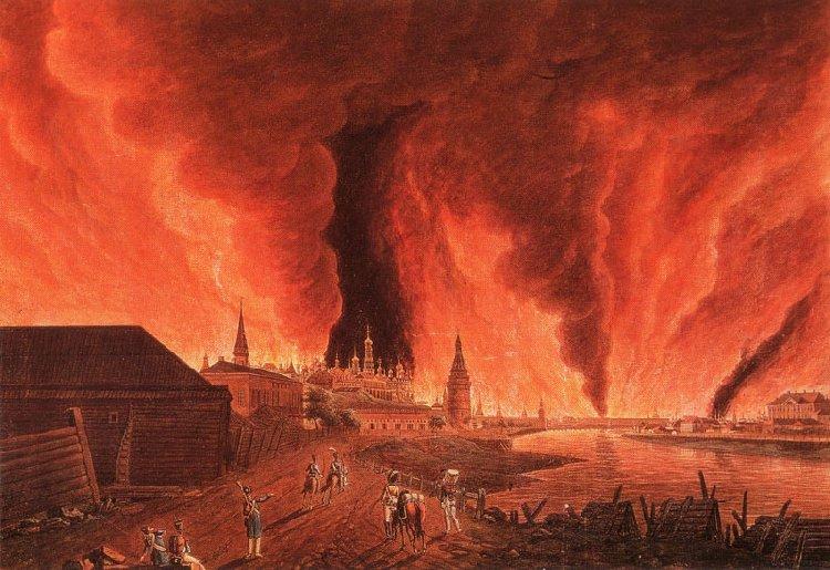 Зачем русские сожгли Москву в 1812 году?