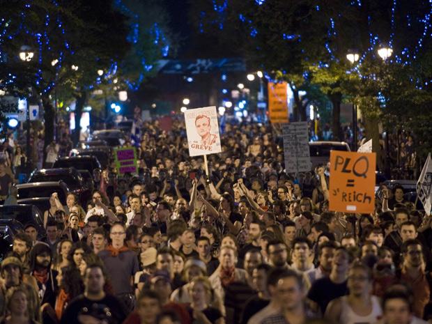 100 дней левого протеста квебекской молодёжи