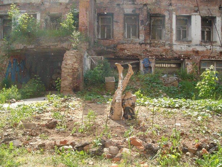 Сквотерский огород в центре Москвы: освоение продолжается