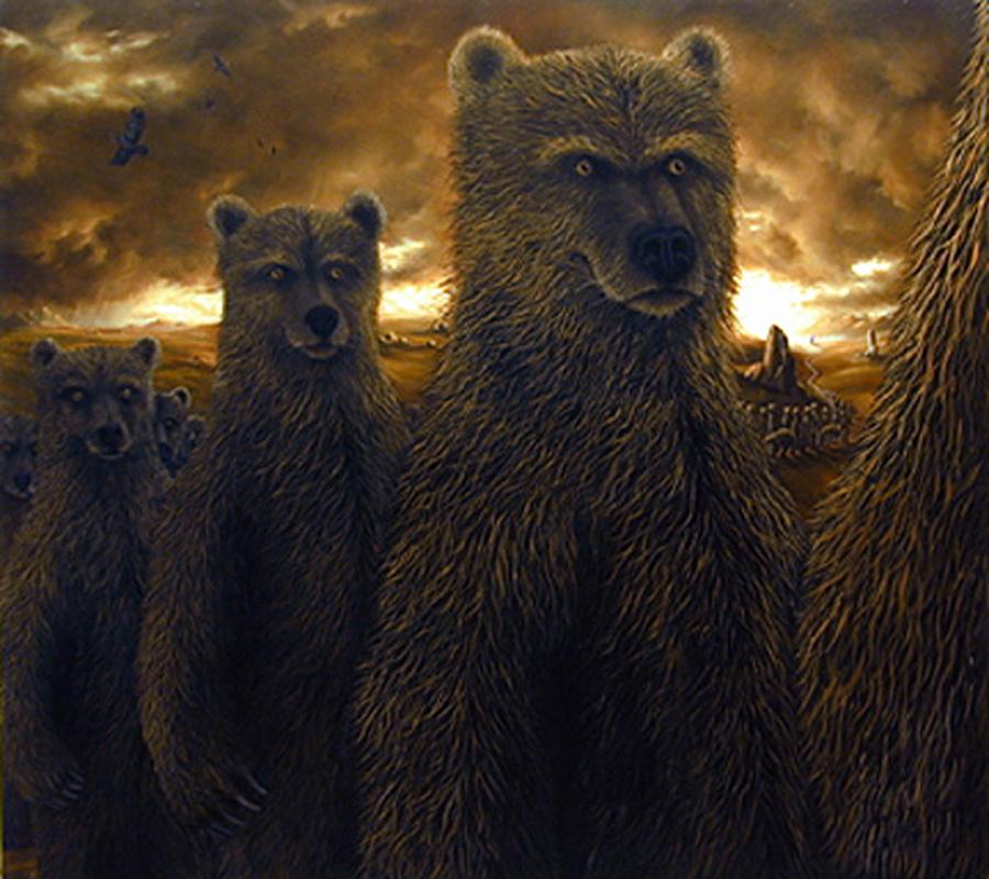Картины недели: медвежье царство Роберта Биссела
