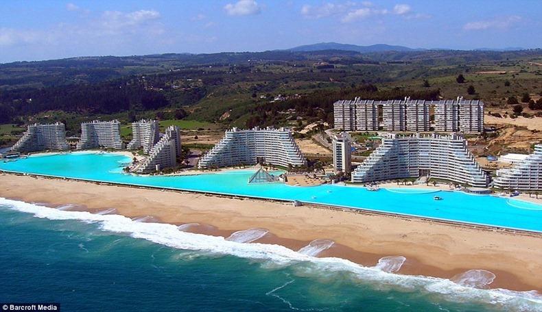 Фото дня: самый большой бассейн в мире