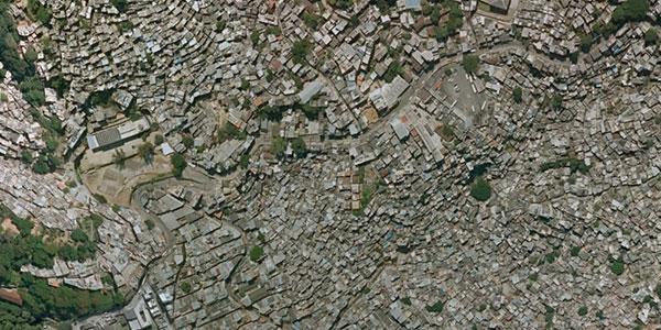 Богатство городских районов отражает площадь зелёных насаждений