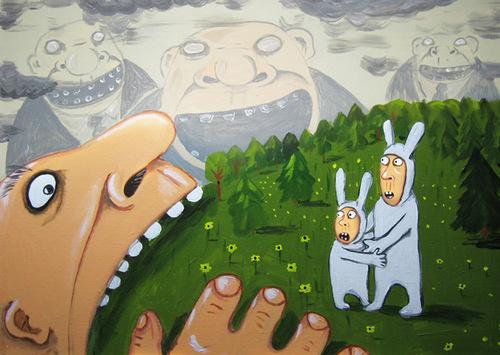 Страшные сказки Химкинского леса